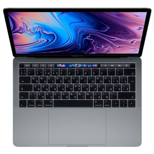 "Ноутбук Apple MacBook Pro 13 with Retina display and Touch Bar Mid 2019 (Intel Core i5 1400 MHz/13.3""/2560x1600/8GB/128GB SSD/DVD нет/Intel Iris Plus Graphics 645/Wi-Fi/Bluetooth/macOS)"