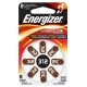 Батарейка Energizer Zinc Air 312