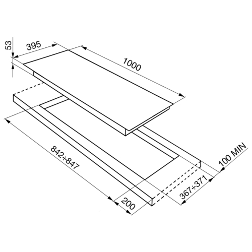 Варочная панель smeg PX1402
