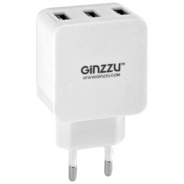 Сетевая зарядка Ginzzu GA-3315UW