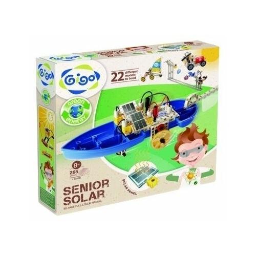 Электромеханический конструктор Gigo Green Energy 7345R-CN Senior Solar