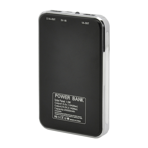 Аккумулятор Coosen Power Bank 20000 mAh Solar