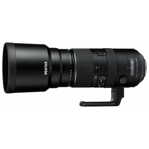 Объектив Pentax D FA 150-450mm F/4.5-5.6 ED DC AW HD