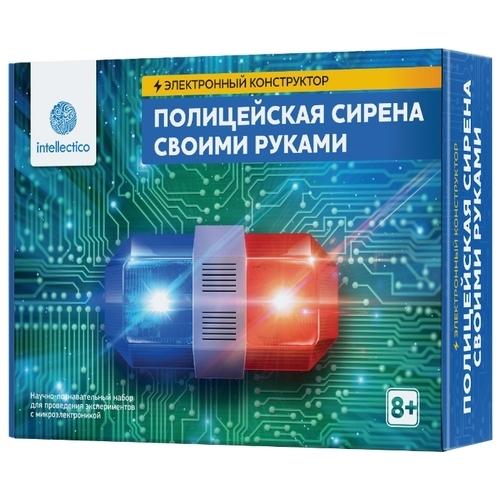 Электронный конструктор Intellectico Своими руками 1002 Полицейская сирена