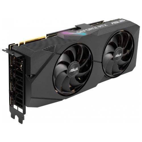 Видеокарта ASUS DUAL GeForce RTX 2070 SUPER 1605MHz PCI-E 3.0 8192MB 14000MHz 256 bit 3xDisplayPort HDMI HDCP EVO OC