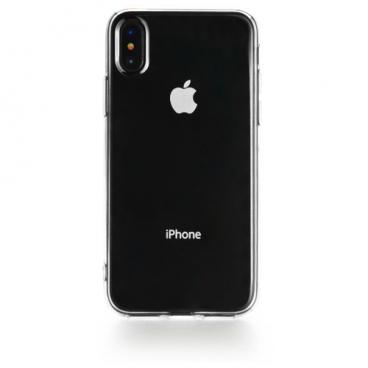 Чехол Gurdini для Apple iPhone X/Xs (силикон прозрачный)