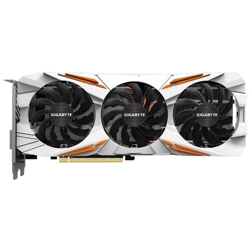 Видеокарта GIGABYTE GeForce GTX 1080 Ti 1544MHz PCI-E 3.0 11264MB 11010MHz 352 bit DVI HDMI HDCP Gaming OC