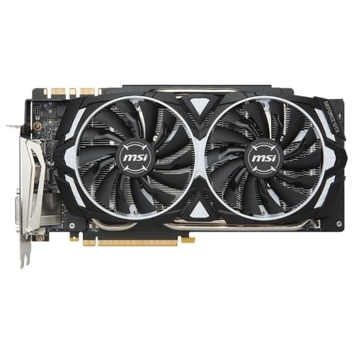 Видеокарта MSI GeForce GTX 1080 Ti 1531MHz PCI-E 3.0 11264MB 11016MHz 352 bit DVI 2xHDMI HDCP Armor OC