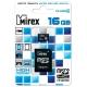 Карта памяти Mirex microSDHC Class 4 16GB + SD adapter