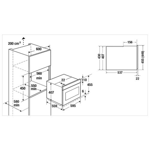 Электрический духовой шкаф Kuppersbusch CBP 6550.0 W1