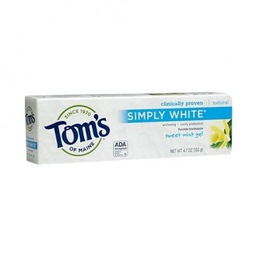 Зубная паста Tom's of Maine Simply White гелевая Сладкая мята