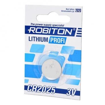 Батарейка ROBITON Lithium Profi CR2025