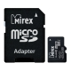 Карта памяти Mirex microSDHC Class 10 UHS-I U1 32GB + SD adapter