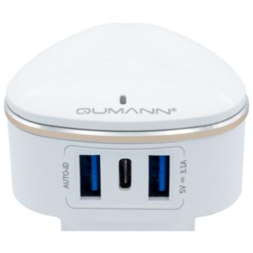 Сетевая зарядка Qumann QTC-03