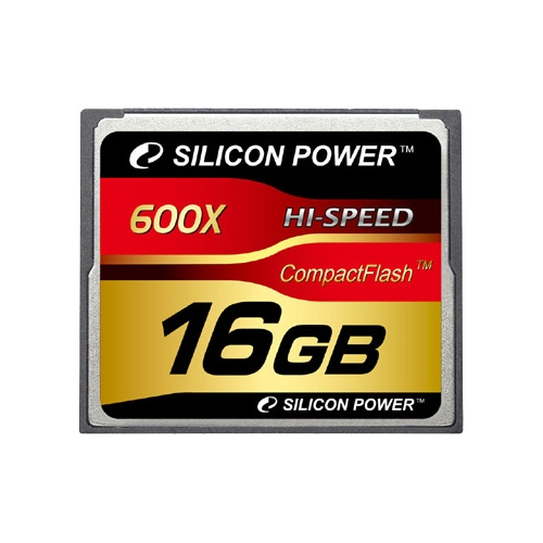 Карта памяти Silicon Power 600X Professional Compact Flash Card 16GB