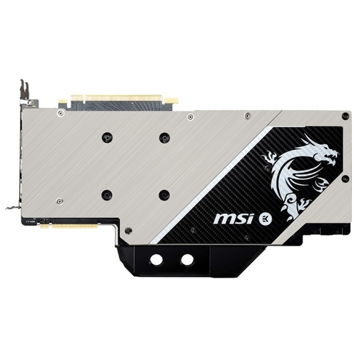 Видеокарта MSI GeForce RTX 2080 1515MHz PCI-E 3.0 8192MB 14000MHz 256 bit 3xDisplayPort HDMI HDCP SEA HAWK EK X