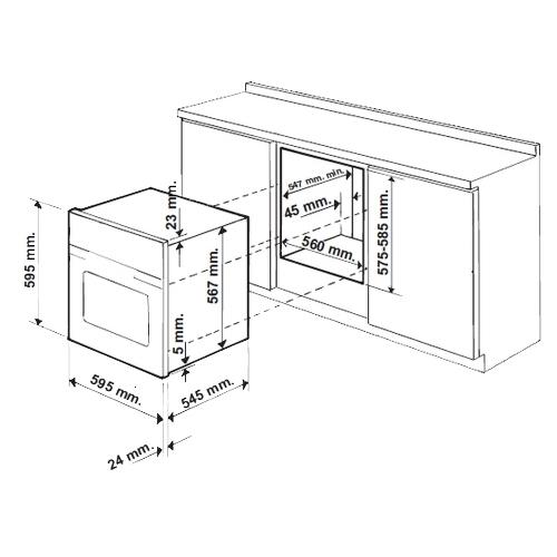 Электрический духовой шкаф Beko BIE 25400 XM