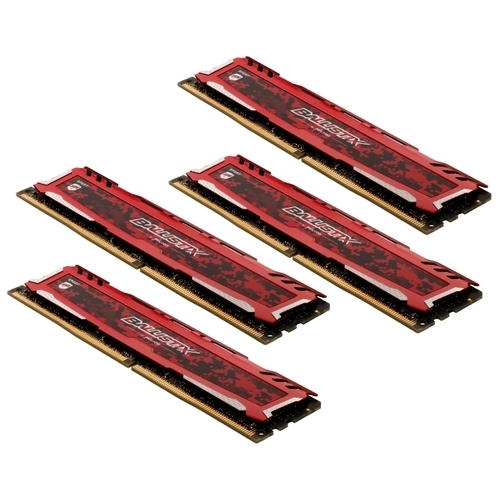 Оперативная память 16 ГБ 4 шт. Ballistix BLS4K16G4D240FSE