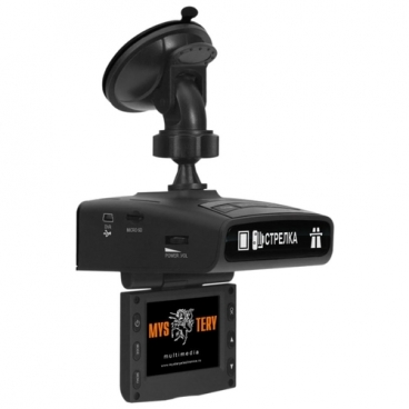 Видеорегистратор с радар-детектором Mystery MRD-830HDVS