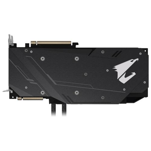 Видеокарта GIGABYTE AORUS GeForce RTX 2080 1890MHz PCI-E 3.0 8192MB 14140MHz 256 bit 3xHDMI 3xDisplayPort HDCP XTREME WATERFORCE