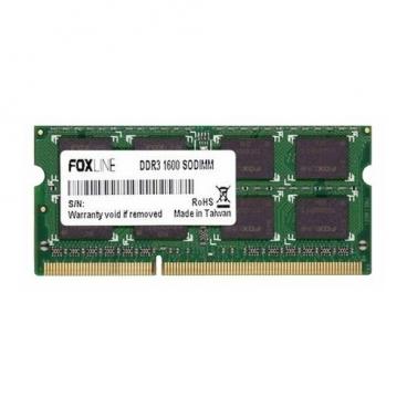 Оперативная память 4 ГБ 1 шт. Foxline FL1600D3S11SL-4G