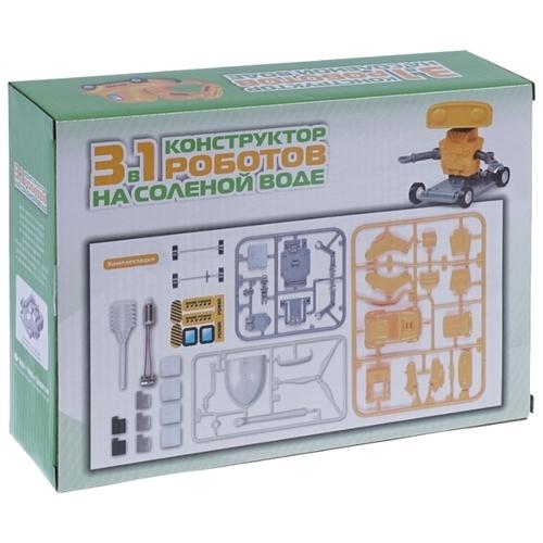 Электромеханический конструктор HLB На соленой воде 20003277 Роботы 3 в 1