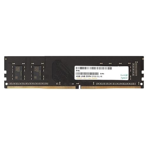 Оперативная память 4 ГБ 1 шт. Apacer DDR4 2133 DIMM 4Gb