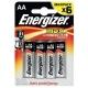 Батарейка Energizer Max+Power Seal AA/LR6