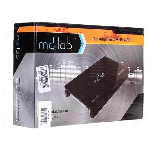 Автомобильный усилитель md.lab AM-EL4.80