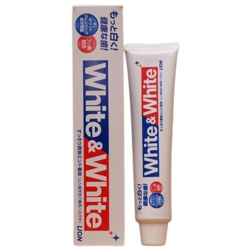 Зубная паста Lion White & White
