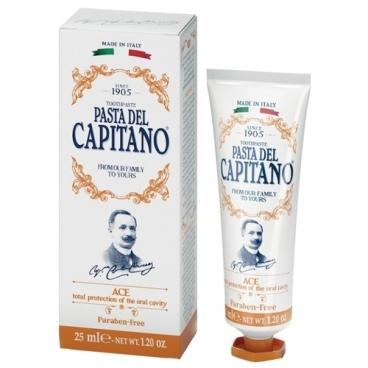 Зубная паста Pasta del Capitano 1905 с витаминами А С Е