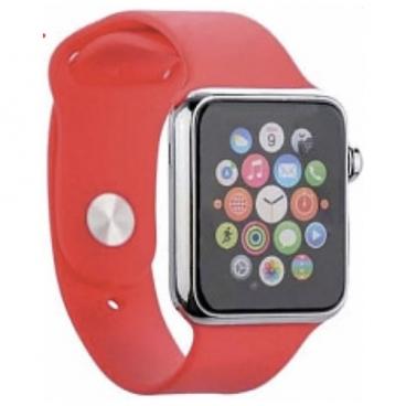 Karmaso Ремешок для Apple Watch 38 mm спортивный ярко-розовый