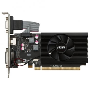Видеокарта MSI Radeon R7 240 600Mhz PCI-E 3.0 2048Mb 1600Mhz 64 bit DVI HDMI HDCP Low Profile