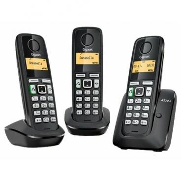 Радиотелефон Gigaset A220A Trio
