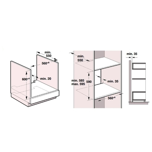Электрический духовой шкаф NEFF B48FT64H0