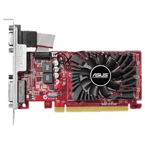 Видеокарта ASUS Radeon R7 240 770MHz PCI-E 3.0 4096MB 1800MHz 128 bit DVI HDMI HDCP