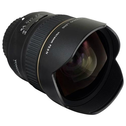 Объектив YongNuo 14mm f/2.8 Nikon F