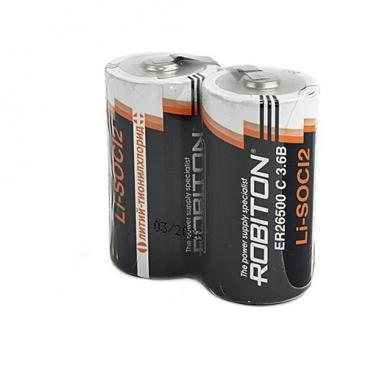 Батарейка ROBITON ER26500-FT с лепестковыми выводами SR2