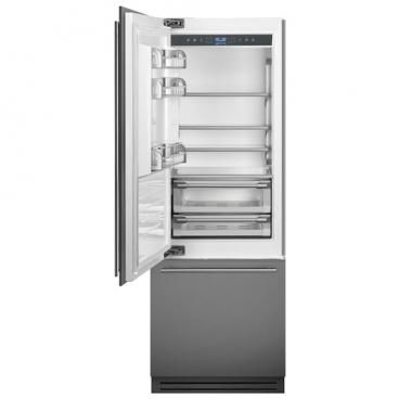 Встраиваемый холодильник smeg RI76LSI