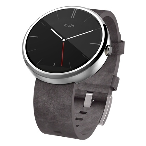 Часы Motorola Moto 360 (leather)