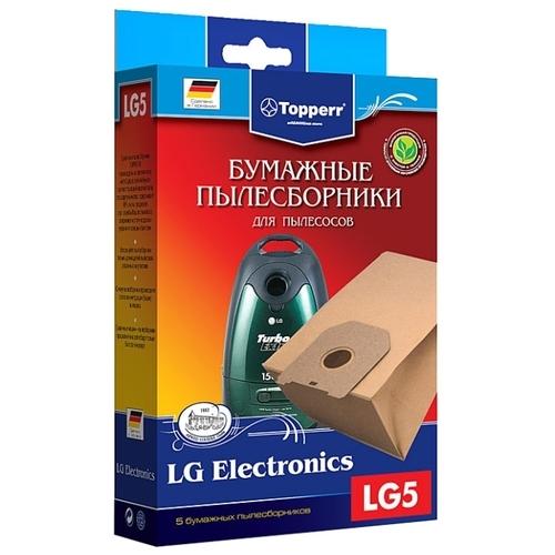 Topperr Бумажные пылесборники LG5