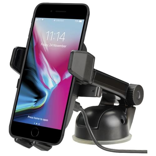 Держатель с беспроводной зарядкой Onetto Easy One Touch Wireless