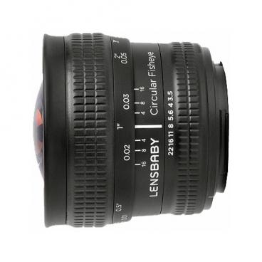 "Объектив Lensbaby Circular with Fisheye Canon EF"""