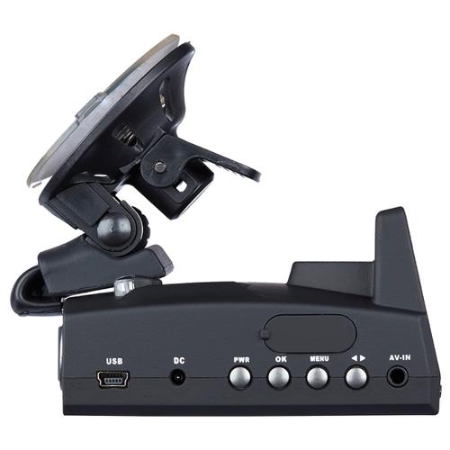 Видеорегистратор с радар-детектором Dunobil Atom Duo, 2 камеры, GPS