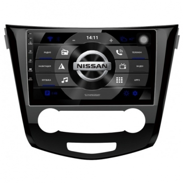 "Автомагнитола Subini NIS101 10.2"" Nissan Qashqai J11E, J11R 2013+"