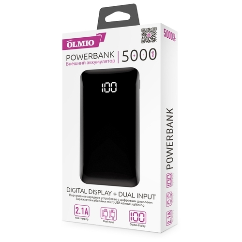 Аккумулятор OLMIO FS-5 5000 mAh