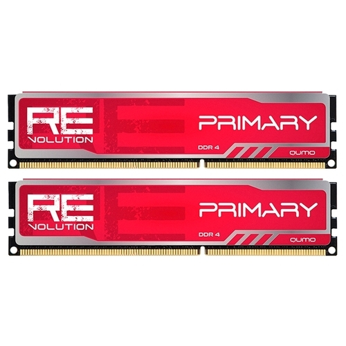 Оперативная память 8 ГБ 2 шт. Qumo ReVolution Primary Q4Rev-16G2M2800P16PrimR