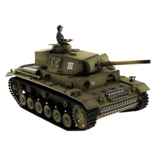 Танк Taigen Panzerkampfwagen III (TG3848-1A) 1:16 36.5 см