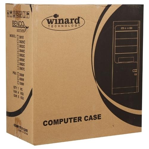 Компьютерный корпус Winard Benco 3067C 500W Black/silver