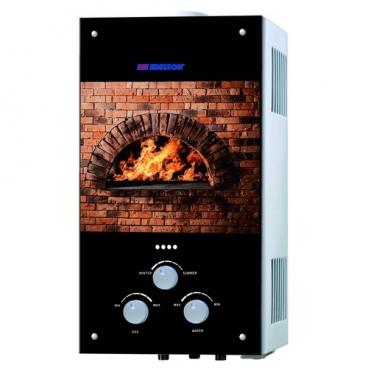 Проточный газовый водонагреватель Edisson Spark S 20 G (Камин)